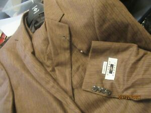 NWT JOSEPH ABBOUD US MADE SUIT EXTREME SLIM 42l 35w FAll WINTER wool cashmere