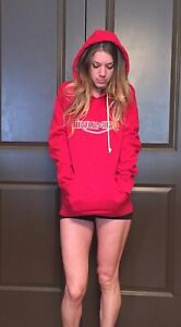 Women's Red Triumph Motorcycle Hoodie Small