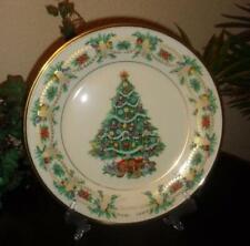 "Lenox Decorative Plate ""1998 Christmas Trees Around the World - America"""