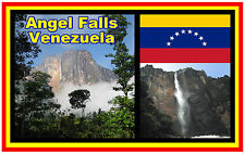 ANGEL FALLS (SUD AMERICA) - NEGOZIO DI SOUVENIR NOVITÀ MAGNETE DEL FRIGORIFERO