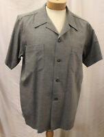 Men's 1950's Grey Fleck casual short sleeve shirt Rockabilly RnR Rockin R&R