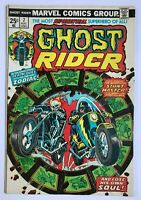 Ghost Rider #7 - Solo Series 1973 Johnny Blaze Marvel Comics Hulk