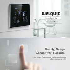 Welquic LCD Thermostat Programmierbar Raumthermostat Touchscreen Fußbodenheizung