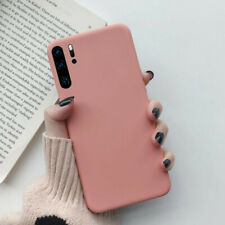 For Huawei P30 P20 Pro P Smart Z 2019 Slim Soft Silicone TPU Frosted Case Cover