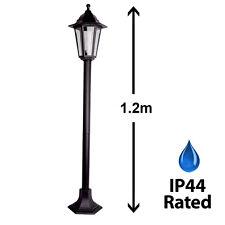 Traditional Black Outdoor Garden Patio Driveway Lamp Post Lantern Lamppost Light