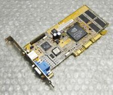 32MB HP 5185-1559 Asus AGP-V7100(T) SD 2MX32 VGA COMP S-Vid Out Graphics Card