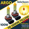 2 X Jaune H11 H8 Feux Brouillard Xénon 100w Conduite Ampoules DRL Haute