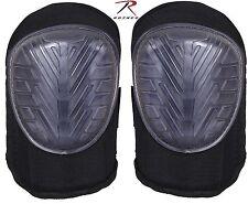 Rothco Black Multi-Purpose Gel Insert Knee Pads Mens Neoprene Adjustable Kneepad