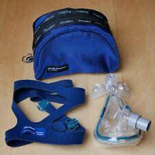 ResMed Mirage Quattro Full Face Maske MEDIUM Atemmaske Gesichtsmaske CPAP Ther.