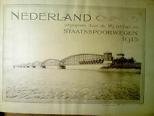 Nederland, Staatsspoorwegen, 1915