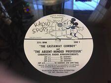 "Walt Disney Record ""Radio Spot""The castaway cowboy & The Absent-Minded Professor"