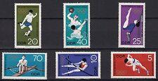 DDR GERMANIA EST 1968 Olimpiadi Città del Messico Yvert 1100-5 SG E1125-30 MNH**