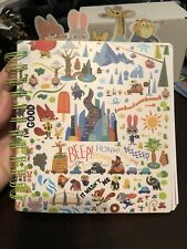 Disney Store Zootopia Notebook Officer Hobbs Nick Wilde Officer Clawhauser