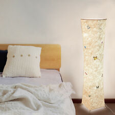 "52"" Floor Lamp Tyvek Fabric Shade Simple Shape Warm Atmosphere Bedroom"