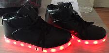 USB LED Leuchtende Schuhe Farbwechsel Sneaker Kinder Jungen Mädchen Blinkschuhe