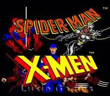 Spider-Man X-Men Arcade's Revenge - SNES Super Nintendo