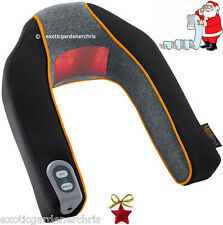 Electric Heated Neck & Shoulders Massager, Infra-Red, Shiatsu, Xmas Gift Cushion