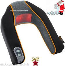 ELETTRICO riscaldato al collo & Shoulders Massaggiatore, infrarosso, Shiatsu, Cuscino Regalo di Natale