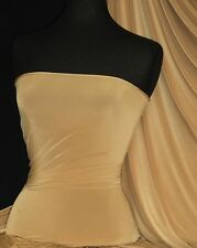 Silk Touch 4 Way Stretch Lycra Fabric Camel Q53 CML