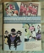 ANIME CENTRAL 2004 Midwest Convention Program Guide Book