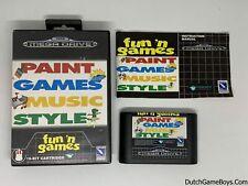 Paint Games Music Style -  Sega Mega Drive