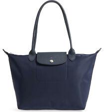 Longchamp Le Pliage Small Neo Nylon Tote Shoulder Bag Tote ~NWT~ Navy Blue