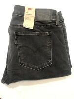 Levis Women's Denim Gray Jeans 711Skinny Size 10 W30 L30 NWT