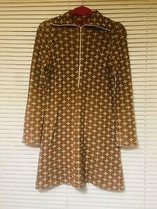 Vintage 1970 Acrylic Mini Dress Size 10