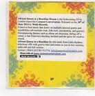 (FN431) Carpool Conversation, African Queen In A Brazilian Dream - DJ CD