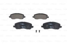 Bremsbelagsatz, Scheibenbremse für Bremsanlage Vorderachse BOSCH 0 986 424 716