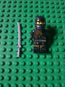 Lego Ninjago Figur Ninja Cole DX Dragon Suit Waffen njo015 2520 2170 2509