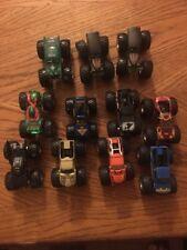 Hot Wheels Monster Jam 11 Truck Lot: Batman, TMNT, Grave Digger + More!!!