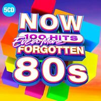 NOW 100 HITS - EVEN MORE FORGOTTEN 80'S [5 CD] NEW & SEALED