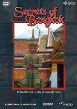 SECRETS OF BANGKOK - EXOTIC VIBRANT THAILAND EXPLORATION TRAVEL DOCUMENTARY DVD