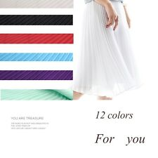 DIY Chiffon Fabric Organ Pleated Craft Material Dress Cloth 0.5*1.5m Craft New