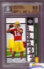 2005 Upper Deck #16 Aaron Rodgers ROOKIE BGS 9.5 GEM MINT Packers MVP Champion!