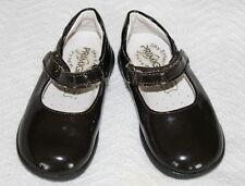 Primigi Andes Dark Burgundy Sparkle Patent Leather Velcro Mary Jane