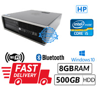 Cheap Computer System HP 8200 SFF Intel Core i5-2400@3.1GHz 8GB 500GB Win 10 Pro