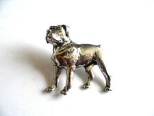 Rottweiler,  English Pewter  Pin Brooch / Badge