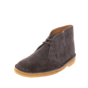 RRP €115 CLARKS Suede Leather Chukka Boots EU 36 UK 3.5 US 6 Lace Up Crepe Sole
