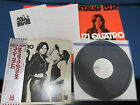 Suzi Quatro ST Japan Promo White Label Vinyl LP w OBI Japanese Press Release
