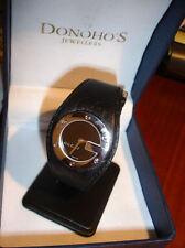 Gucci Dames Horloge type 104 met lederen band