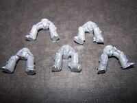 5 Space Marine Grey Knight Terminator Legs bits 40K, Games Workshop