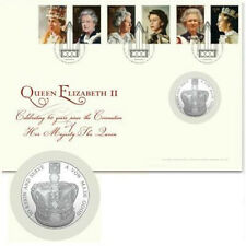 Great Britain 2013 Royal potraits coin cover  met  GBP 5.00 munt postfris/MNH