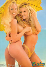 LOT OF 2 POSTERS: BLONDAGE II  - SEXY FEMALE MODELS - FREE SHIP   #3115   LP53 M