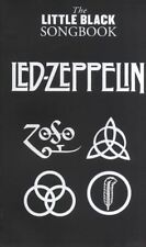LED ZEPPELIN THE LITTLE BLACK SONG BOOK 86 SONG BOOK with CHORDS LYRICS SONGBOOK