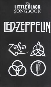 LED ZEPPELIN THE LITTLE BLACK SONG BOOK 86 SONGS GUITAR SONG BOOK w CHORDS