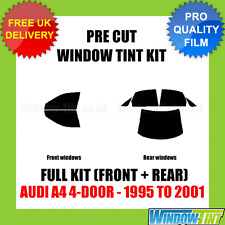 AUDI A4 4-DOOR 1995-2001 FULL PRE CUT WINDOW TINT KIT