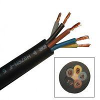 Gummikabel H07RN-F 5x1,5 qmm, 5G 1,5mm²  Gummileitung
