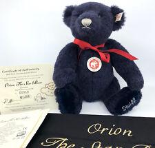 Steiff Orion Star Teddy Bear Musical Swarovski Alpaca Plush Cert Bag 2006 LE1500